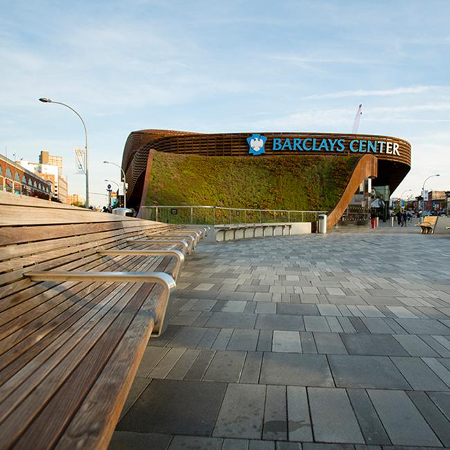Barclays Center Plaza