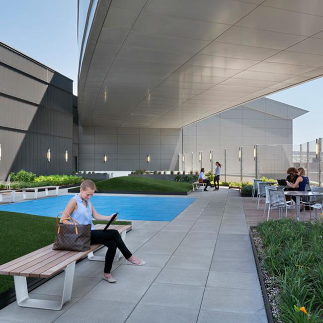 JetBlue Rooftop Lounge