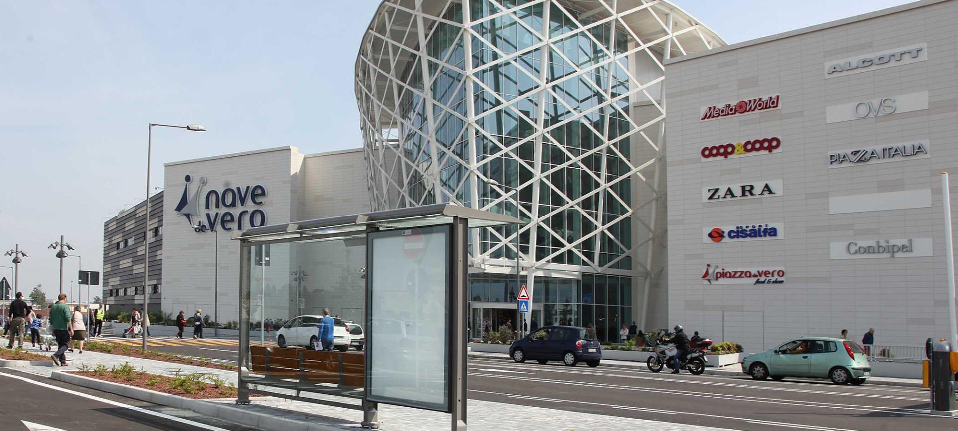 Shopping Mall Nave De Vero, Marghera Venice