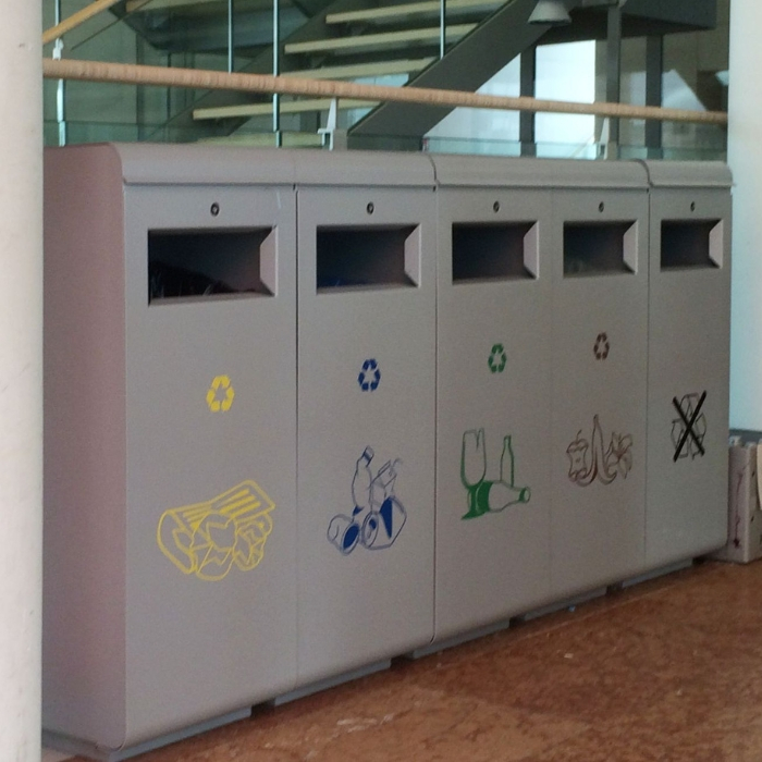 Ecoside Recycling Bin