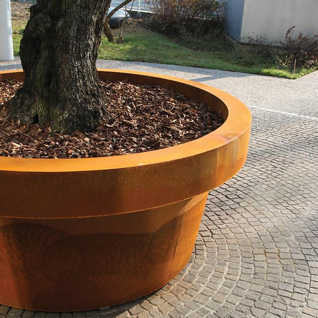 Size Planter