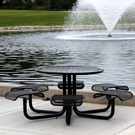 Carousel Picnic Table