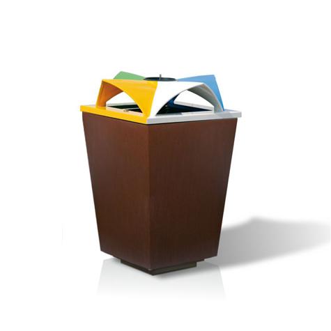 Ecomix Recycling Bin