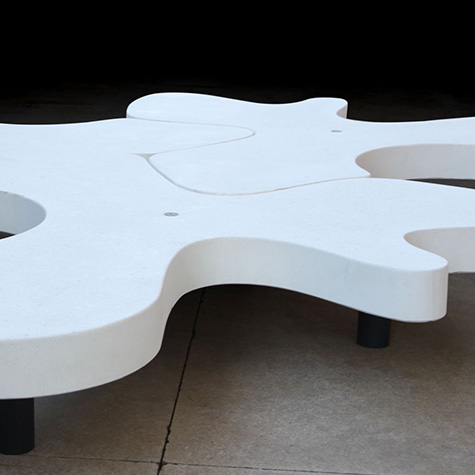 Natural Puzzle Bench