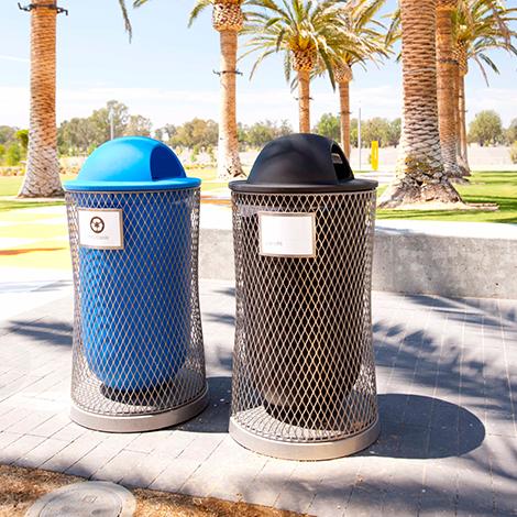 Parc Vue Litter Bin
