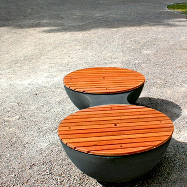 Union Concrete Bench