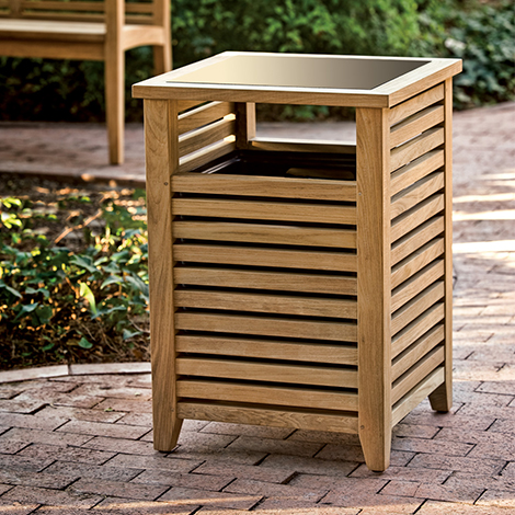 Wellspring Litter Bin Street Furniture Uk