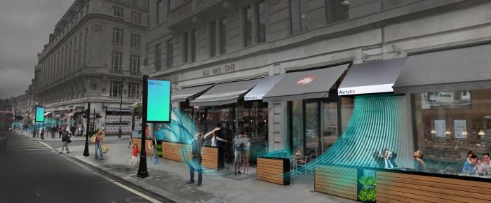 Artform tackle London pollution through innovative bench design