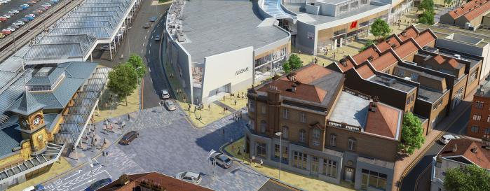 Eastbourne Town Centre Redevelopment