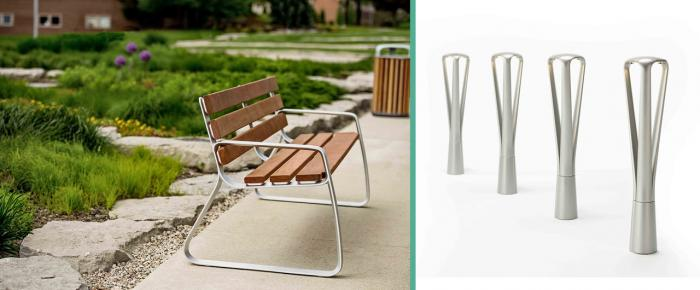 Introducing the new FGP range of Street Furniture