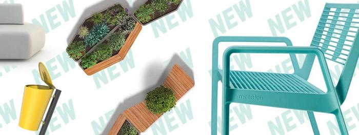 STILE - A New range of design led street furniture products for 2021.
