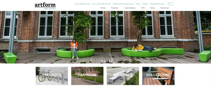 New Website Launched for Artform Urban