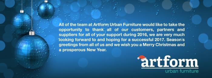 Season's Greetings from Artform Urban