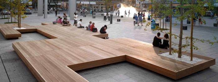 How urban spaces are transforming and the role of street furniture