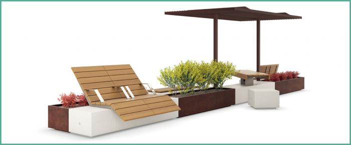 The New Alterego Seating & Planters