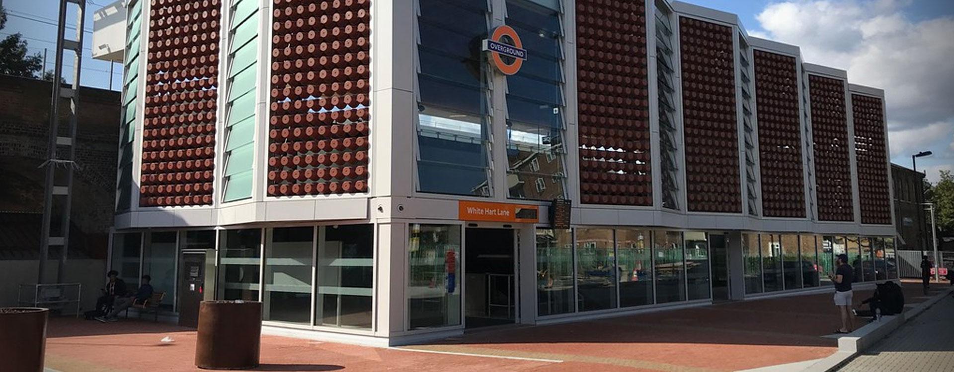 White Hart Lane Overground Station Gets Potty Upgrade