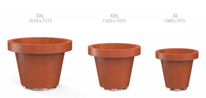 size planter 3