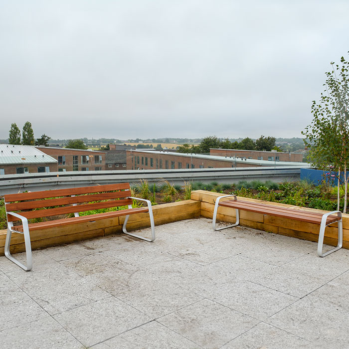 Edge Hill Library Roof Terrace