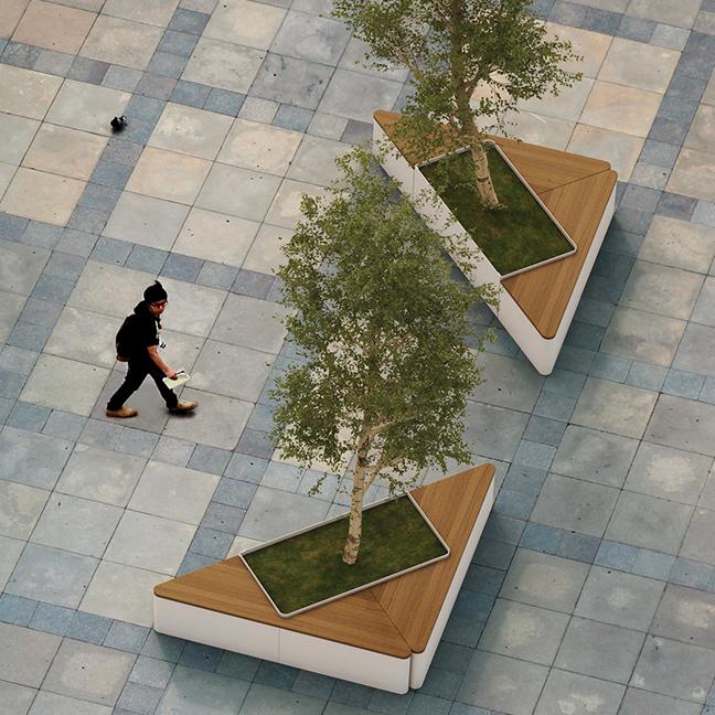 Triangle Planter