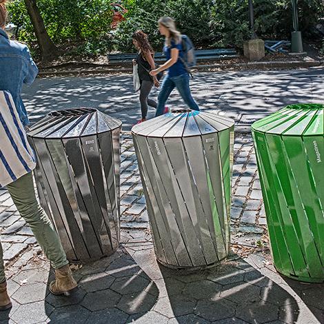 Conservancy Recycling Litter Bin