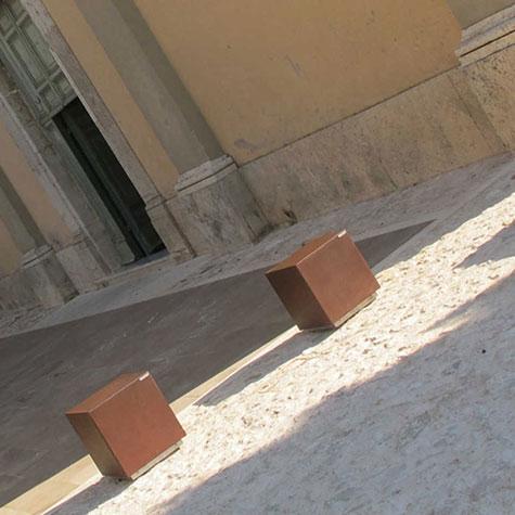 Cube Bollard