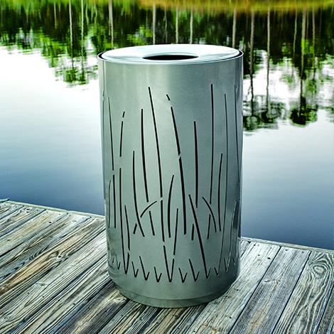 Lakeside Litter Bin