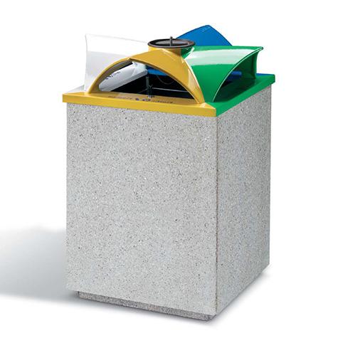 Topazio Recycling Bin