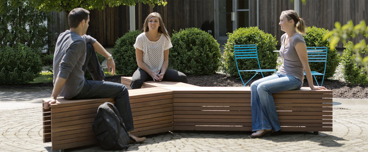 Artform supply outdoor seating to the Silicon Valley of the UK