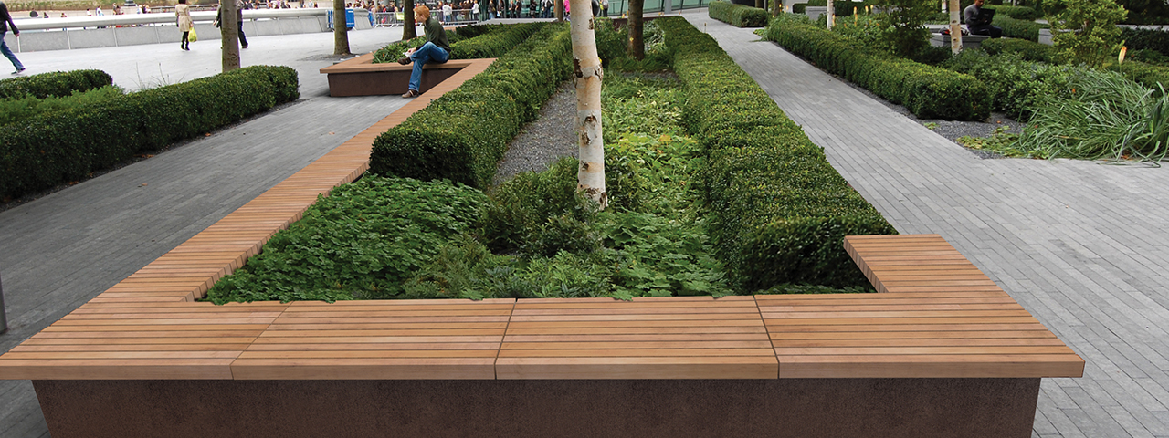 Introducing the Grandifioriere flower bed border and seating solution