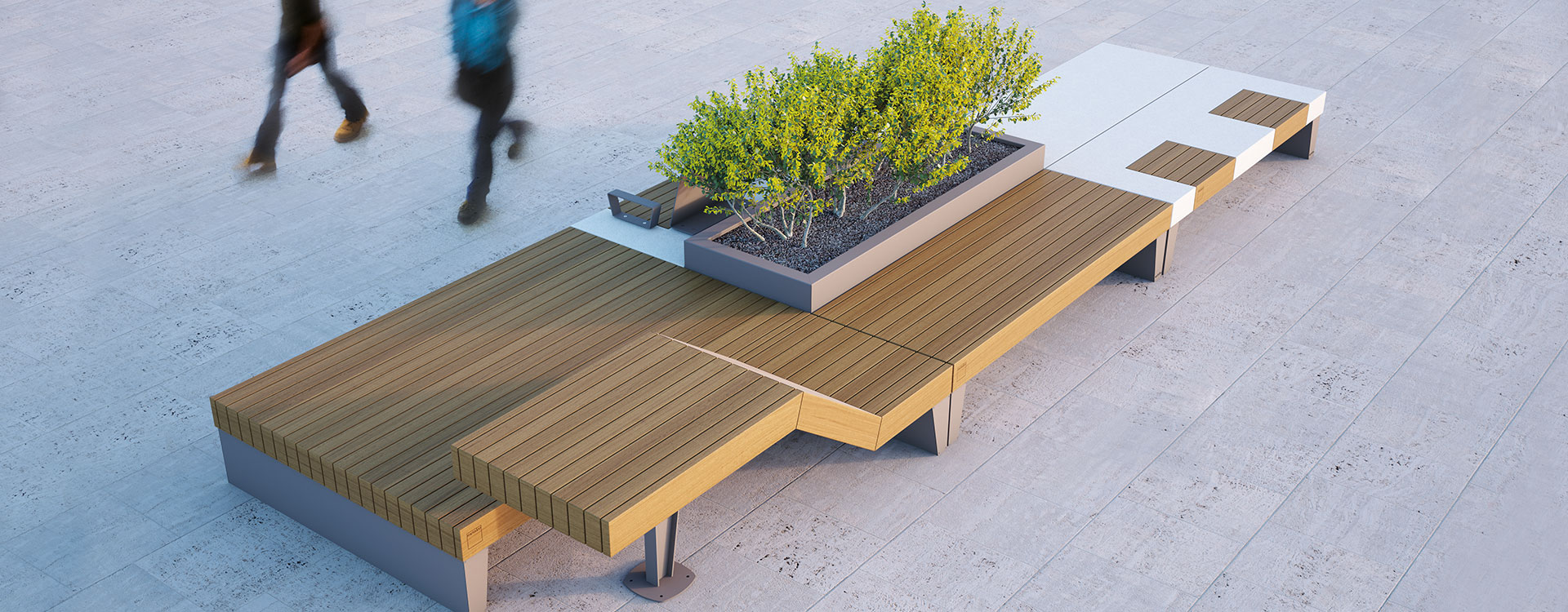 Introducing the Isolaurbana Seating and Planter Collection