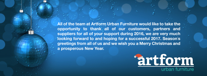 Season's Greetings from Artform Urban