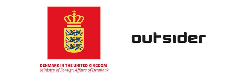 Danish Embassy outsider logo